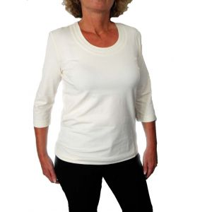 Delmod Damen T-Shirt, 3/4 Arm