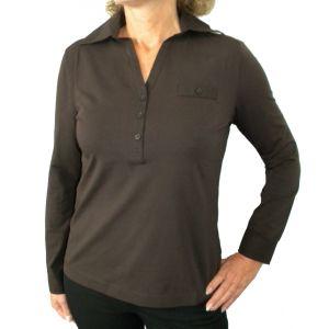Delmod Damen Polo-Shirt, 1/1 Arm